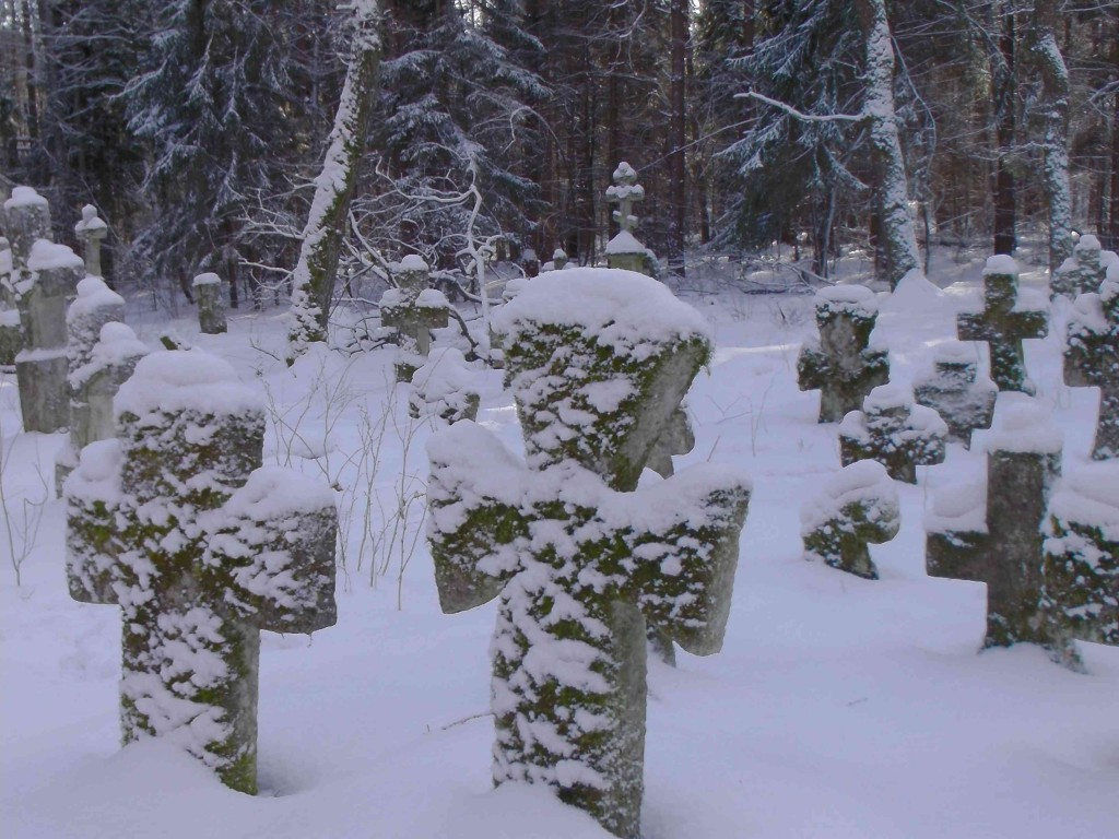 Snowy Crosses