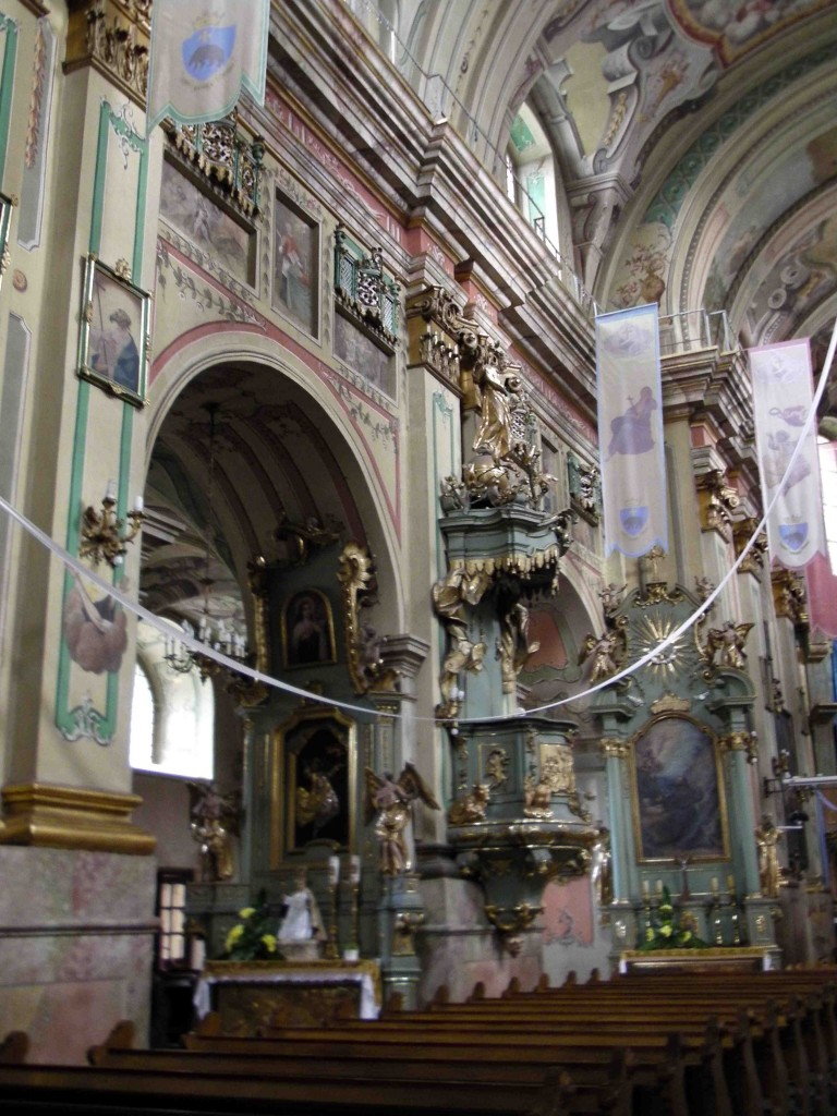 Franciscan Church interior.
