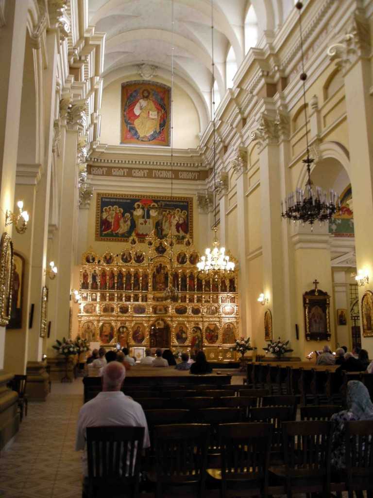 Greek Orthodox Church Interior.