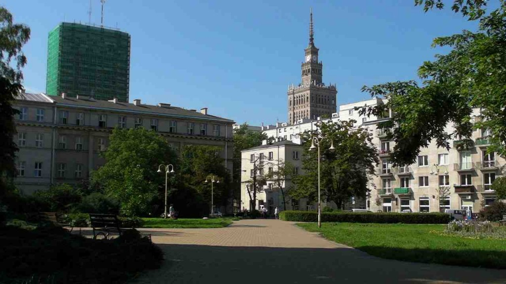 Warsaw in summertime.