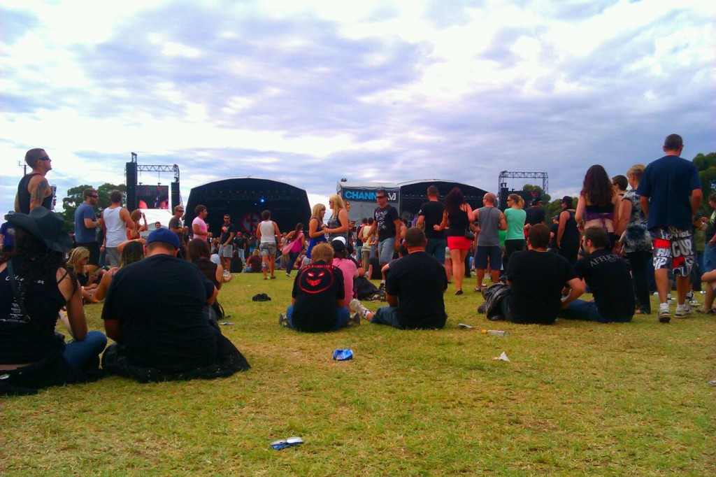 Soundwave Festival grounds.